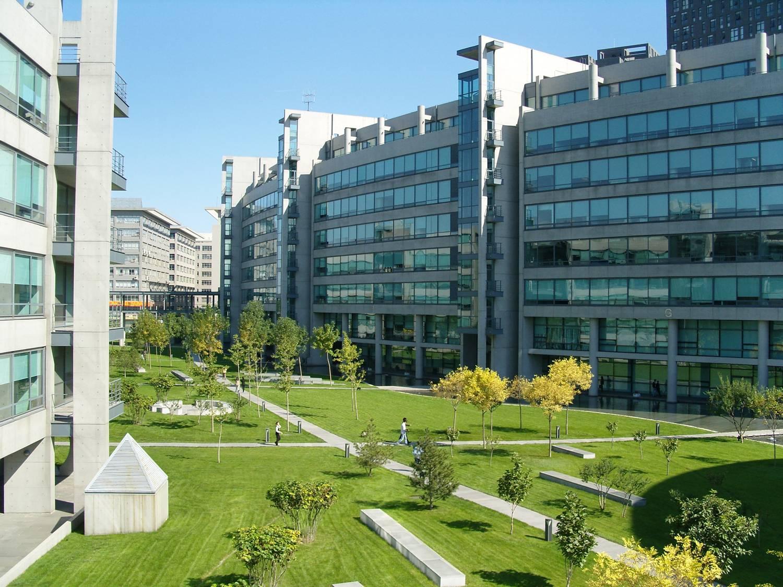 Photo of corporate campus