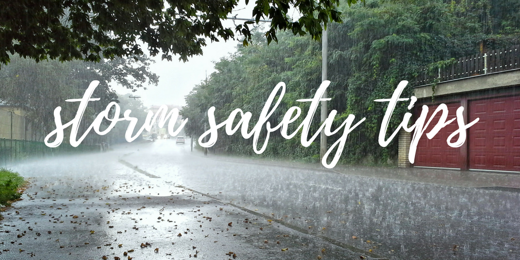 storm safety tips